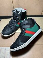 Creative Recreation Cesario Black Leather Red Green Skateboard SHOES Sz 10.5 US