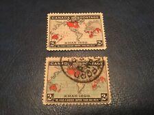ICOLLECTZONE Canada #86 & #86 F-VF used (Bk1)