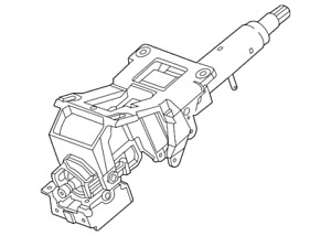 Genuine GM Steering Column 84689778