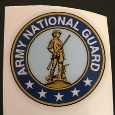 United States Army National Guard Decal For Full Size Football Helmet