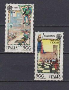 S27672) Dealer Stock Italy MNH 1981 Europa 2v Siena Marostica (X10 Sets)