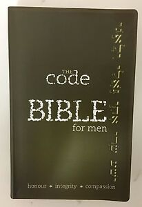 Bible for Men: God's Word in Modern English The Code Flex Cover