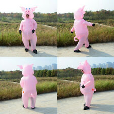 2020 Funny Pig Animals Inflatable Costume Cosplay Fancy Suit Performance Party