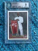 2003-04 Topps Basketball #221 Lebron James RC Rookie BGS 9.5, 9.5, 9, 8.5 MINT