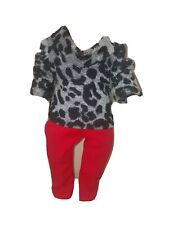 """Cowl neck sweater top blouse and jeans pants American girl and other 18"""" dolls"""