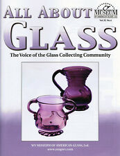 All About Glass 11-4: Clevenger Bros., Gay Fad, Colored Victorian Salt Shakers