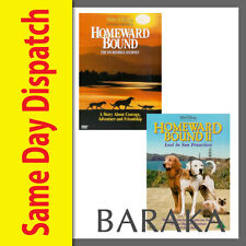 Homeward Bound 1 & 2: The Incredible Journey & Lost in San Francisco DVD R4 I II