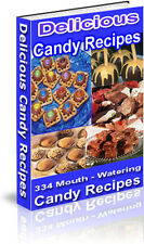 Cheesecake, Chocolate & Candy Recipes all on one CD