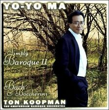 NEW Yo-Yo Ma - Simply Baroque II ~ Bach & Boccherini / ABO, Koopman (Audio CD)