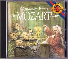 CANADIAN BRASS: THE MOZART ALBUM Die Zauberflöte Alla Turca Figaro CBS CD 1988