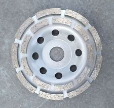 125/22,23 Diamond Grinding Cup Grinding Disc Concrete Grinder Concrete Screed silb