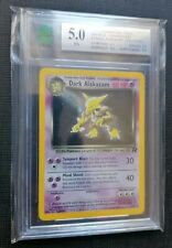 MNT 5 - Dark Alakazam  HOLO - Team Rocket 2000 - Pokemon - like PSA / PCA