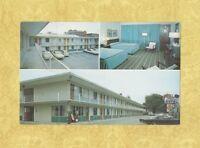 GA Savannah 1960-70s postcard QUALITY MOTOR COURTS Bay & Montgomery strs Georgia