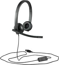 Logitech H570e Wired Headset, Stereo Headphones with Noise-Cancelling Microphone