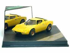 WOW EXTREMELY RARE Lancia Stratos HF V6 Yellow 1974 1:43 Vitesse/ Minichamps