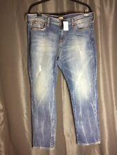 J.Crew Factory Distressed Boyfriend Jeans Size 32 X 30 NWT