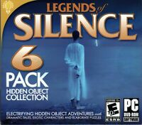 Legends of Silence 6 pack Hidden Object Games (PC) DISC ONLY NO CASE NO ART UNUS
