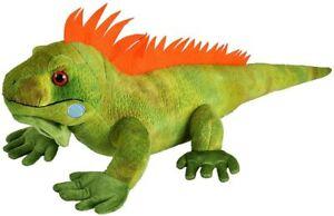 """NEW PLUSH SOFT TOY 12905 Cuddlekins Iguana Lizard 15"""" 38cm Wild Republic"""