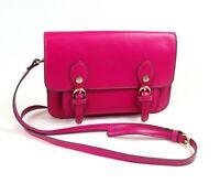Steve Madden Womens Pink Fuschia Crossbody Shoulder Handbag Purse