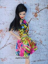 Barbie's Yellow Satin DIVA SENSATION Outfit