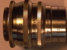 Wollensak Cine Raptar 25mm F:1.9 Cmt. f/ m4/3 Olympus Lumix Pentax Q
