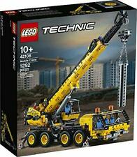 Lego Technic 42108 Super Mobile Crane Model New Displayable Building Machine