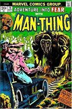Essential Man-Thing, Vol. 1 (Marvel Essentials) (v. 1) Thomas, Roy, Conway, Ger