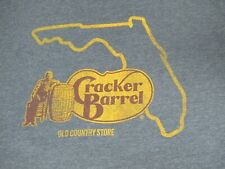 CRACKER BARREL FLORIDA OLD COUNTRY STORE - LARGE GRAY T-SHIRT - D24