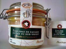 Foie gras de canard entier du Sud-Ouest France whole duck liver