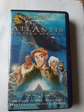 ATLANTIS  L'IMPERO PERDUTO -  Walt Disney- VHS