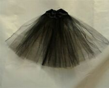 new Barbie drop waist petticoat black full length