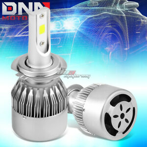 UNIVERSAL FITMENT H7 6000K LED LIGHTING LONG DURABLE BRIGHT BULBS WITH FAN