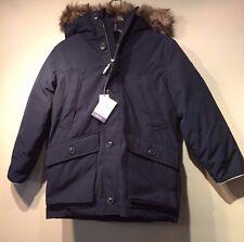 NWT Gap Boy's Down parka Coat Jacket, True Indigo SIZE M ( 8 )    #164328