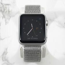 Apple Watch Series 1 38mm Silver Aluminum Case Seashell Nylon Loop