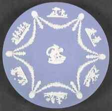 Wedgwood Cream Color On Lavender Jasperware Cupid Serving Plate 7164338