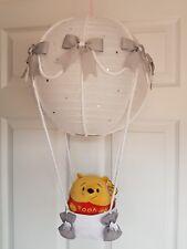 Hot air balloon light shade Winnie the pooh  looks stunning nursery xx