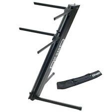 PROEL DHKS10BK STAND PROFESSIONALE x TASTIERA supporto 2 tastiere doppio braccio