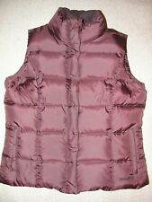 b6ee587a506b8 Women's EDDIE BAUER Premium Quality Goose Down Quilted Vest Size L