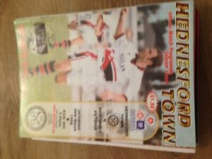 HEDNESFORD TOWN V NORTHWICH VICTORIA - GM VAUXHALL CONFERENCE - 28/3/1998