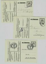 G156 Sweden special military stationery ps stamp cut out scarce!
