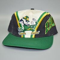 Notre Dame Fighting Irish Twins Enterprise Vintage 90s Spellout Snapback Cap Hat