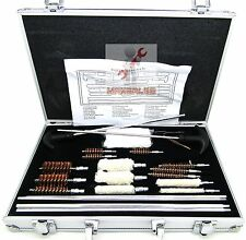103pc Universal Gun Cleaning Kit Rifle Pistol Shotgun Handgun Firearm Cleaner