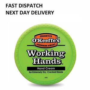 O'Keeffe's Working Hands Hand Cream Cracked Split Skin Non Greasy Tub 96g