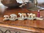 Antique Wooden Erzgebirge Folding Toy- Mint Condition