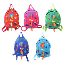Cute Anti Lost Link Kids Harnesses Toddlers Detachable Backpack Child Leashes LE