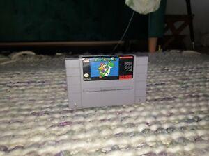 Super Mario World Super Nintendo SNES Cartridge NTSC