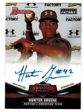 Hunter Greene REDS 2018 Bowman Under Armour UAA-4 All-American RC Auto 186/199