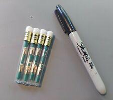 Vtg Nos Pentel Green Refill Erasers For Mechanical Pencil Z2 1 4 Tube Lot 12pc