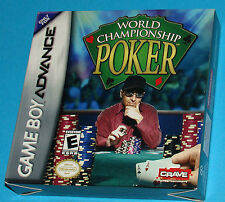 World Championship Poker - Game Boy Advance GBA Nintendo - USA