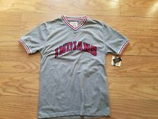 cleveland indians t-shirt By Red Jacket Small NWT